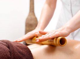Бамбуковые палочки: новая методика профессионального массажа спины