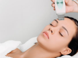 Очищение лица ультразвуковым методом